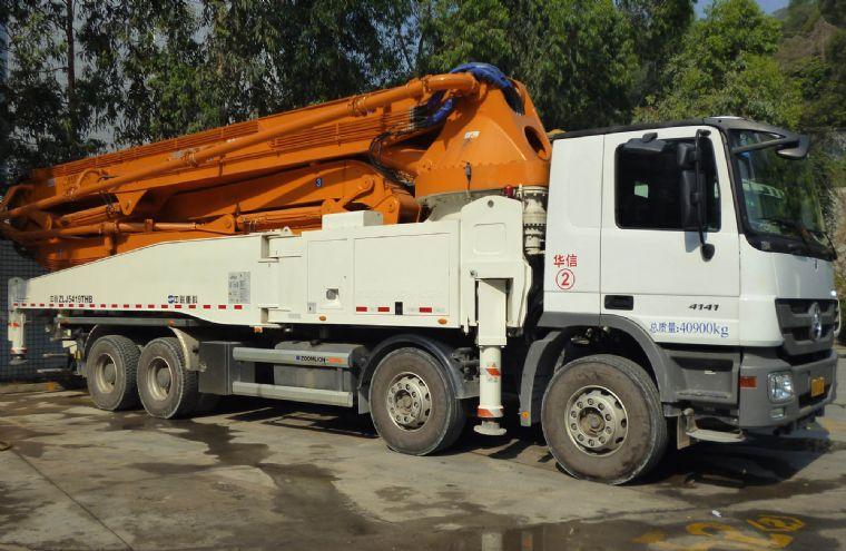 中联52米泵车